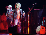 The Who en concierto, en el Royal Albert Hall, Roger Daltrey en el escenario, octubre de 1989 Lámina fotográfica