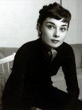 Audrey Hepburn, September 1954 Fotografie-Druck