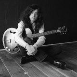 Jimmy Page of Led Zeppelin, 1970 Fotografisk tryk