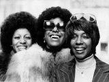 The Supremes the Girl Singing Group Fotografisk tryk