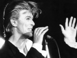 David Bowie Super Star Sang at a Press Conference and Announced Details of His Forthcoming Tours Photographic Print