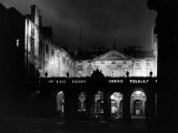 High Street Undergoes Experimental Floodlighting, Edinburgh Photographic Print