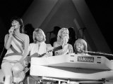 Abba Swedish Pop Band, November 1979 Fotoprint