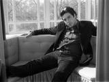 Al Pacino på Dorchester Hotel i London, marts 1974 Fotografisk tryk