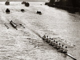 Rowing, Oxford V Cambridge Boat Race, 1928 Fotografisk tryk