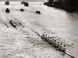 Rowing, Oxford V Cambridge Boat Race, 1928 Fotografie-Druck