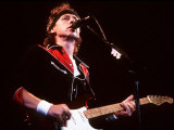 Dire Straits Singer in Concert at Wembley Arena Photographic Print