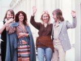Abba Swedish Pop Group Fotoprint