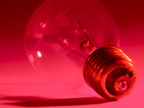 Close-up of Fragile Light Bulb Photographic Print