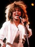 Tina Turner in Concert Birmingham Fotografisk tryk