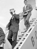 Frank Sinatra Arriving at Heathrow Airport with Dean Martin, August 1961 Photographic Print