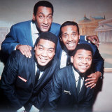 The Four Tops Pop Group at the Saville Theatre London Fotografisk tryk