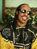 Songwriter Stevie Wonder, 1993 Fotografisk tryk