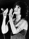 Barbra Streisand in Concert in the United States, 1977 Fotografisk tryk