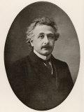 Albert Einstein in 1922 Impressão fotográfica