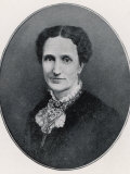 Mary Baker Eddy Founder of Christian Science: a Picture of Her from Her Early Days at Boston Lámina fotográfica