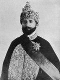 Haile Selassie Emperor of Ethiopia Lámina fotográfica