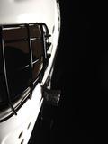 Black and White Goalie Mask Fotografie-Druck