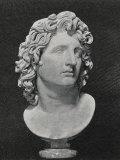 Alexander the Great King of Macedon Greece Depicted as a Sun-God Fotografie-Druck