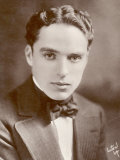 Charlie Chaplin (Sir Charles Spencer) English Comedian and Actor Fotografie-Druck