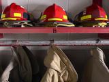 Firefighting Gear Photographic Print