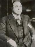"Alphonse ""Scarface"" Capone Chicago Gangster Impressão fotográfica"