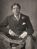 Oscar Wilde Fotografisk trykk av  Downey
