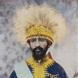 Haile Selassie Emperor of Ethiopia Fotografisk trykk