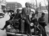 Jongens van South Side Chicago, 1941 Foto van Russell Lee
