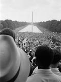 Civil Rights March on Washington, D.C. Foto von Warren K. Leffler