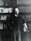 Portrait of Lenin in His Study Fotografisk trykk