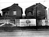 Houses, Atlanta, Georgia, 1936 Photo by Walker Evans