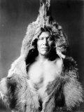 Bear's Belly, Arikara Indian Photographie par Edward S. Curtis