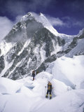 On the Way to the Top, Nepal Fotografie-Druck von Michael Brown