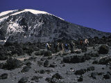 Kilimanjaro's Summit, Kilimanjaro Photographic Print by Michael Brown