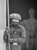 Black Panther Convention, Lincoln Memorial Photo by Thomas J. O'halloran