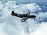 North American's P-51 Mustang Fighter is in Service with Britain's Royal Air Force, 1942 Foto af Mark Sherwood