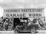 Auto Parts Shop, Atlanta, Georgia, c.1936 Foto von Walker Evans