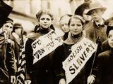 Protest against Child Labor, New York, 1909 Foto