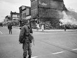 1968 Washington D.C. Riot Aftermath Foto af Warren K. Leffler