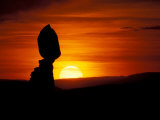 Balance Rock at Sunset, Arches National Park, Utah, USA Impressão fotográfica por Jerry & Marcy Monkman