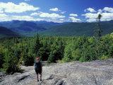 Hiking on Mt. Crawford, New Hampshire, USA Impressão fotográfica por Jerry & Marcy Monkman