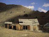 Animas Forks Ghost Town Near Silverton, Colorado, USA Lámina fotográfica