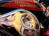 Harley Davidson Heritage Softail Made 1991 from a 1936 Style Lámina fotográfica