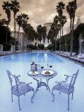 Delano Hotel Pool, South Beach, Miami, Florida, USA Fotografie-Druck von Robin Hill