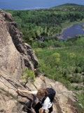 Hiking on the Beehive Trail, Maine, USA Impressão fotográfica por Jerry & Marcy Monkman