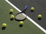Tennis Still Life Fotografisk trykk