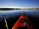 Kayaking in Little Harbor, Odiorne Point State Park, New Hampshire, USA Impressão fotográfica por Jerry & Marcy Monkman