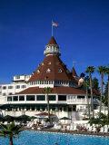 Hotel Del Coronado, San Diego, California, USA Lámina fotográfica