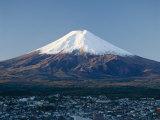 Mount Fuji, Honshu, Japan Lámina fotográfica